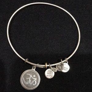 Alex& Ani Expandable Chinese Character  Bracelet